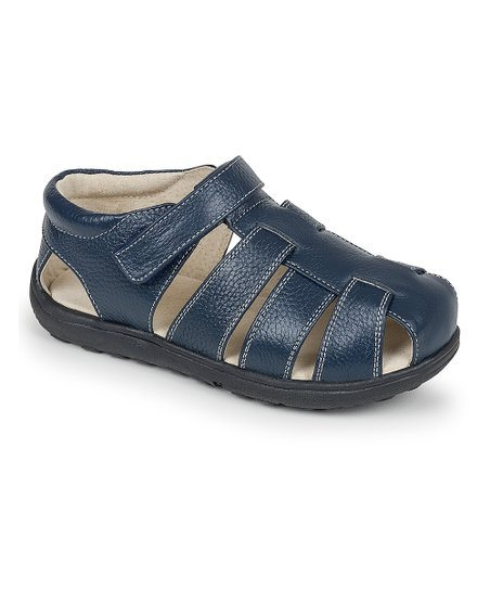 See Kai Run Navy Dillon II Closed-Toe Sandal  d43bcf25c774
