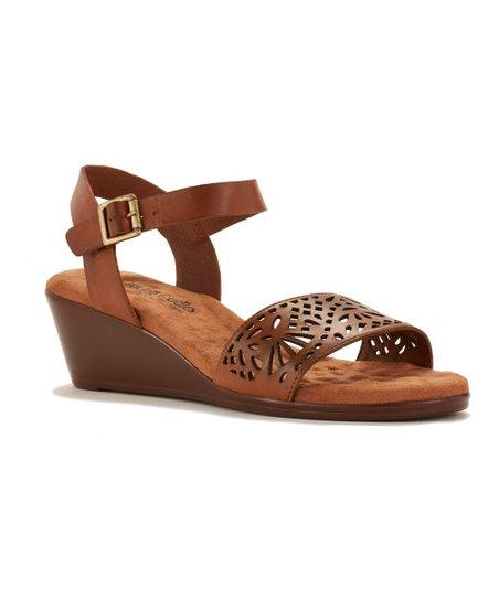 94514b395be5a Walking Cradles Luggage Laser-Cutout Nara Leather Sandal - Women