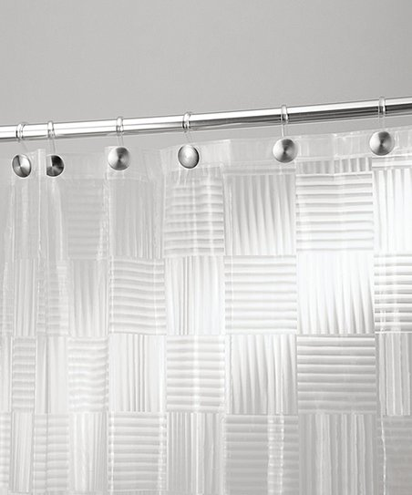 Frost Glass Block Shower Curtain