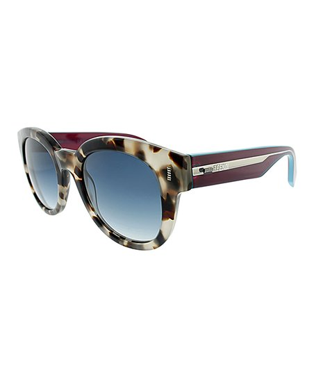 fd99ccc0ec49d love this product Brown Tortoise Round Sunglasses - Women