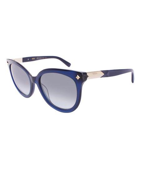 46e499ac05a love this product Blue Cat-Eye Sunglasses - Women