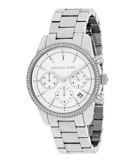 688da07783802 Michael Kors Silver Ritz Bracelet Watch