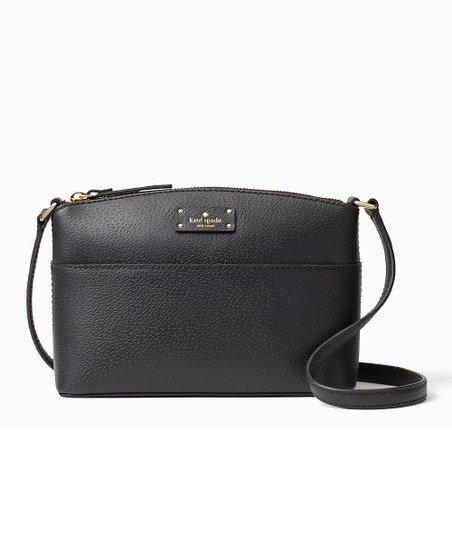 5f6a42582 Kate Spade Black Grove Street Millie Leather Crossbody Bag | Zulily