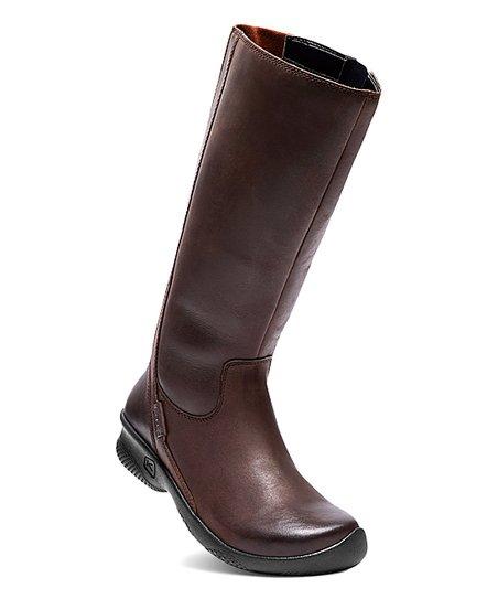 bd78bb5b499 love this product Mocha Bern Baby Bern II Tall Wide-Calf Leather Boot -  Women