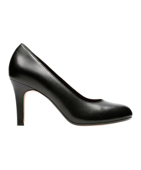6da1e83fb25 Clarks Black Heavenly Star Leather Pump - Women