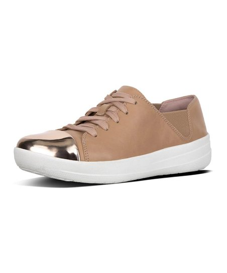 0de5a2300 love this product Nude Mirror-Toe F-Sporty Leather Sneaker - Women