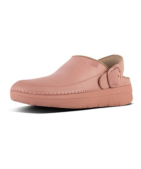 36b7e59e764f FitFlop Dusky Pink Gogh Pro Superlight Leather Clog - Women