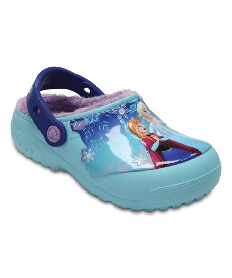 578753293 love this product Frozen™ Ice Blue Olaf   Sven Fun Lab Fuzz-Lined Clog -  Kids