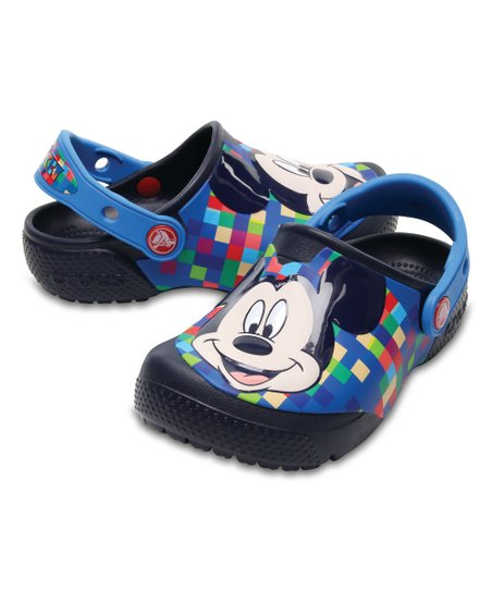 deea1305 love this product Navy Mickey Mouse Fun Lab Clog - Kids