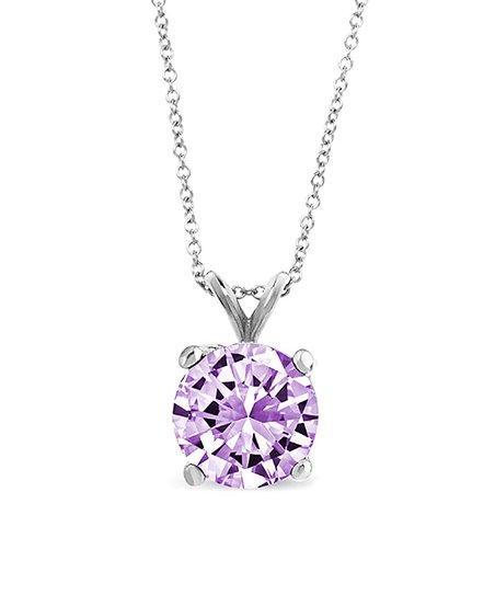 Best Silver Kids Amethyst & Sterling Silver February Birthstone Pendant  Necklace