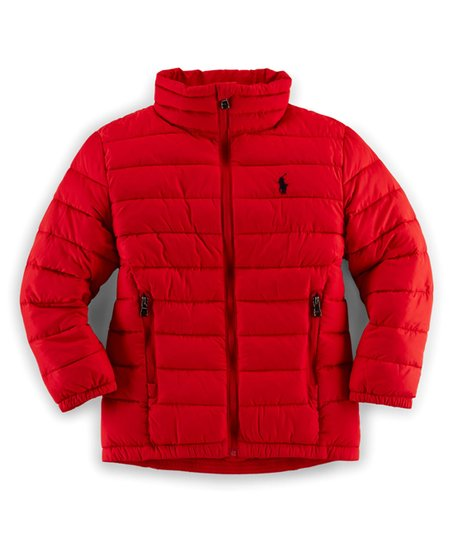 b76c137a86c love this product Red Puffer Jacket - Toddler   Girls