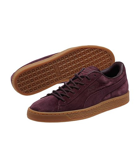 info for 4f497 4eac5 PUMA Winetasting Basket Classic Winterized Leather Sneaker
