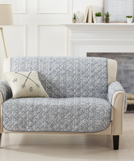 Wondrous Home Fashion Designs Gray Katrina Furniture Cover Caraccident5 Cool Chair Designs And Ideas Caraccident5Info