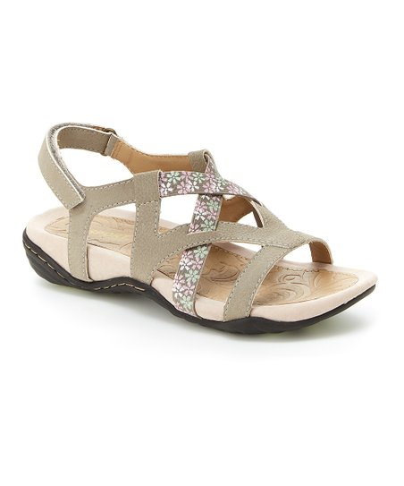 love this product Taupe Woodland Sandal - Women e3a23c63f