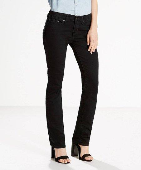 f04c0599c2b Levis Black Onyx 414 Classic Straight-Leg Jeans - Plus