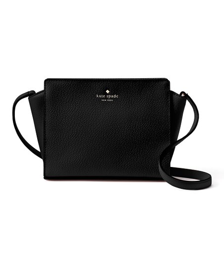 Kate Spade Black Grand Street Hayden Leather Crossbody Bag  fca9408d38
