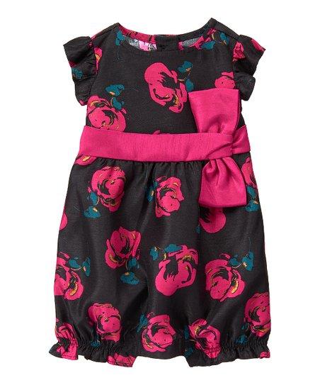 e50abc3df1c love this product Teal Floral Bubble Romper - Infant
