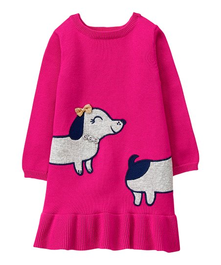 6a54c3364d love this product Pink Dachshund Sweater Dress - Infant   Toddler
