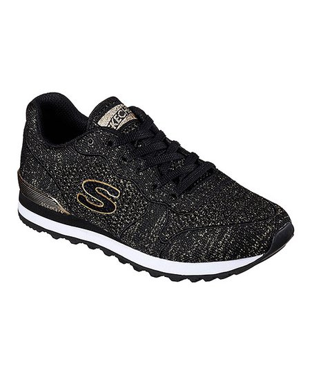 Skechers Black & Gray OG 85 Low Flyers Sneaker | Zulily