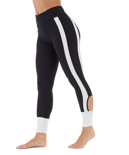 c9f9419b33 love this product Black   White Player Leggings