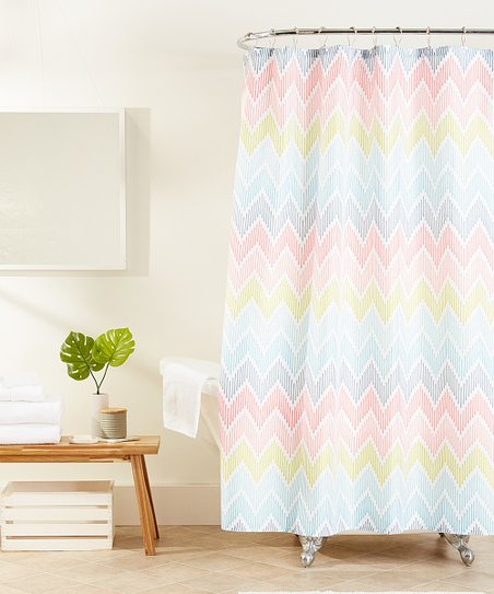 Love This Product Pink Blue Lena Shower Curtain