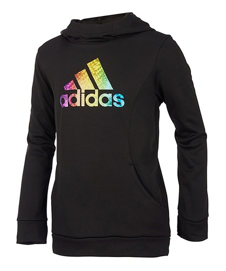 Adidas Black Performance Hoodie Girls Zulily