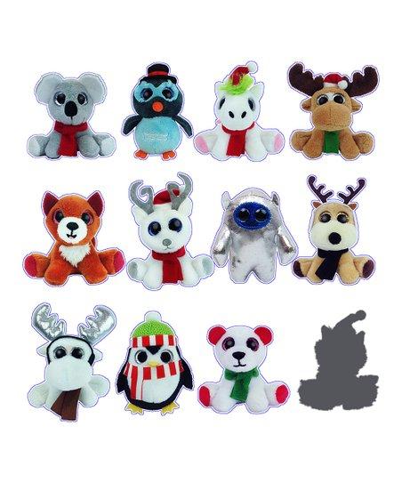 New Surprizamals Holiday Series 4 Reindeer Raccoon Mini Collectible Animal 2020