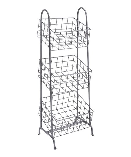 Linon Home Metal Basket Stand Zulily