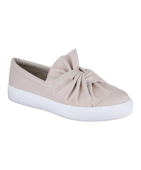 MIA Shoes Blush Zoe Slip-On Sneaker