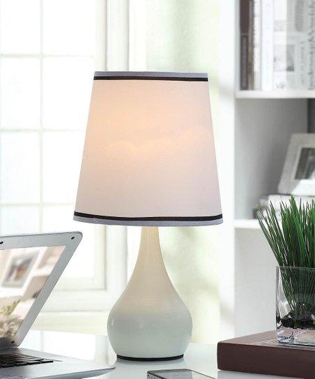 Ok Lighting White Mini Table Touch Lamp Zulily