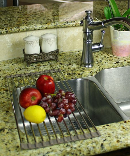 Grand Fusion Housewares, Inc  Stainless Roll-Up Dish Drying