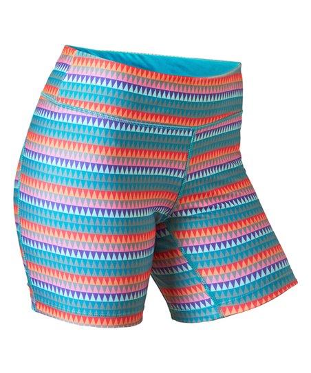 8e417722bc UV Skinz Coral Deserts UPF 50+ Swim Shorts - Plus | Zulily