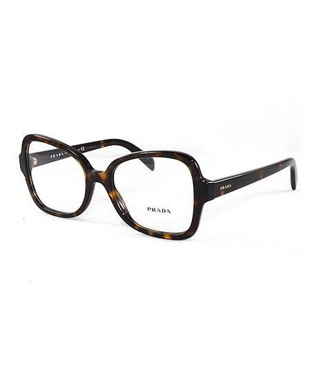 2952988f1a8 Prada Havana Oversize Eyeglasses