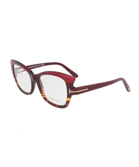 ca0f16b8af love this product Tortoise   Violet Rectangular Cat-Eye Eyeglasses - Women