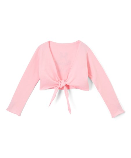1f19b8251 love this product Pink 'Ballet' Wrap Top - Toddler & Girls