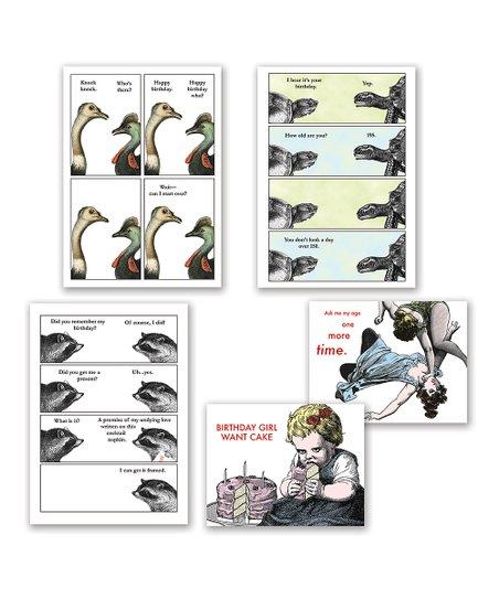 Quirky Animals Birthday Card