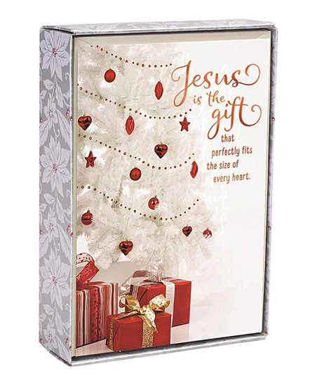 Dayspring Christmas Cards.Dayspring Jesus Is The Gift Boxed Christmas Cards