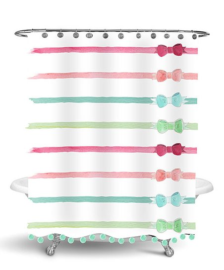 Love This Product Ribbons Bows Shower Curtain