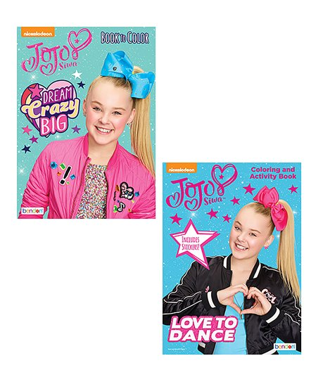 JoJo Siwa Activity Sticker And Coloring Book Set Best Price And Reviews  Zulily