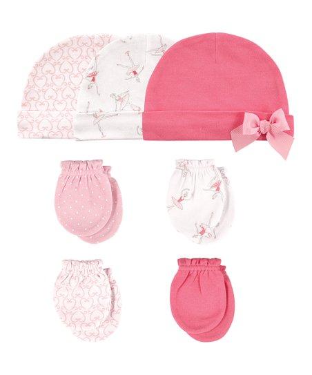 love this product Pink Ballerina Beanie   Mittens Set - Newborn af8094616