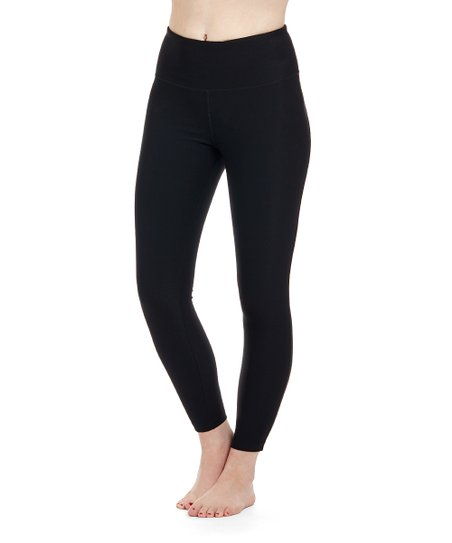 1b3fdf1255b absolutely fit Black Tummy Control High-Waist V-Back Leggings ...