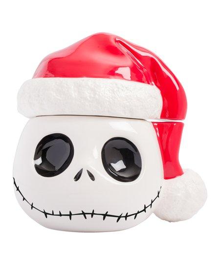 ab68ff578d0 love this product Nightmare Before Christmas Santa Hat Jack Cookie Jar