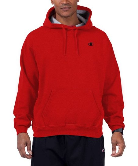 297ac0d4a655 Champion Cardinal Red Fleece Pullover Hoodie - Mens Big   Tall