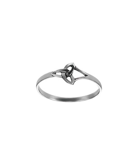 Tressa Collection Sterling Silver Celtic Trinity Knot Ring