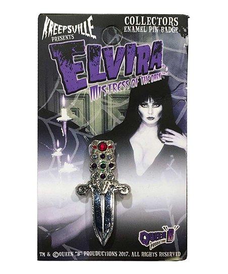Kreepsville 666 Elvira Jeweled Dagger Enamel Pin