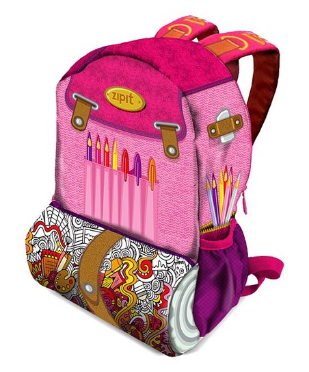 5e747b6c28fd love this product Pink Artist Adventure Backpack