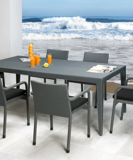love this product Onyx Seven-Piece Dining Table Set a3236dba6