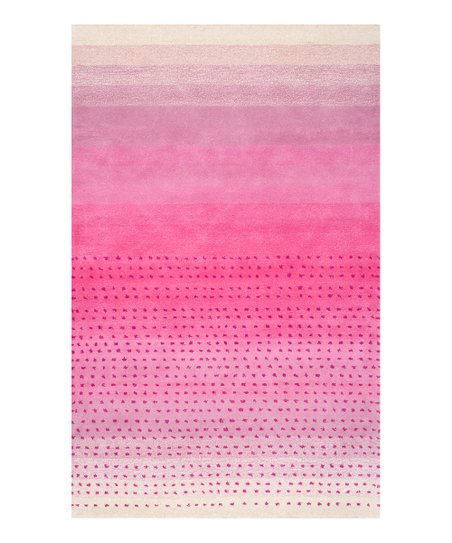 Love This Product Pink Morderna Ombré Wool Rug