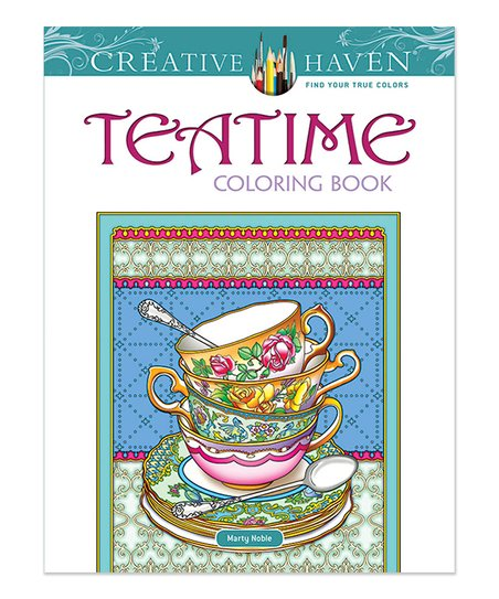 Dover Publications Teatime Coloring Book Best Price And Reviews Zulily