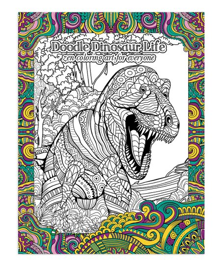 - Tree-Free Greetings Doodle Dinosaur Live Coloring Book Best Price And  Reviews Zulily